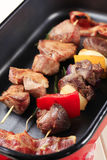 Shish kebabs Stock Photography