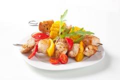 Shish kebabs Royalty Free Stock Photography