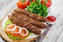 Shish kebabs Royaltyfri Foto