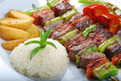 Shish kebap Stockbild