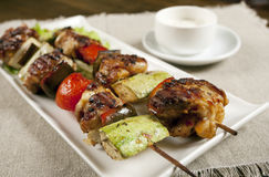 Shish kebeb Stockfoto