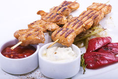 Shish Kebobs Stock Photography