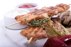Shish Kebobs Stock Photos