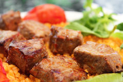 Shish meat Royalty Free Stock Images