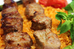 Shish meat Royalty Free Stock Image