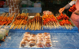 Shish Rynek Kebab Zdjęcia Stock