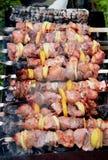 shish szaszłyk kebabu Obrazy Royalty Free