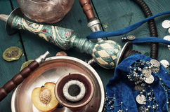 Shisha and accessories Stock Photos