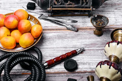 Shisha com aroma frutado Fotografia de Stock Royalty Free