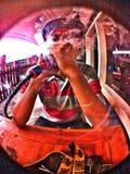 Shisha del humo Imagen de archivo libre de regalías