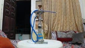 Shisha es un tipo de método que fuma para los árabes foto de archivo