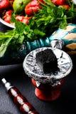 Shisha with fruit flavors Stock Image