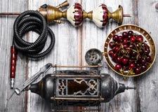 Shisha with fruity aroma Stock Photos