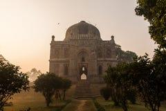 Shisha Gumbad i den Lodi trädgården, New Delhi Royaltyfri Fotografi