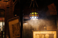 Shisha& x27; humo de s Imagenes de archivo