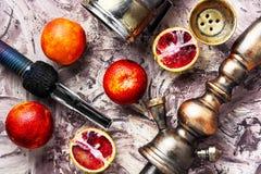 Shisha with orange taste Stock Photography