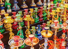 Shisha pipes hookah Stock Photo