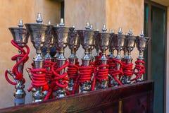 Shisha pipes hookah Stock Image
