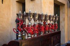 Shisha pipes hookah Royalty Free Stock Images