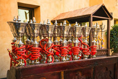 Shisha pipes hookah Royalty Free Stock Photography