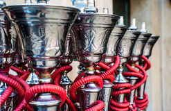 Shisha pipes hookah Stock Photography