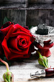 Shisha with the scent of roses Royalty Free Stock Photos