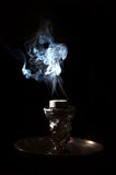 Shisha smoke Stock Images