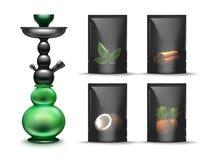 Shisha tobacco packs Royalty Free Stock Image