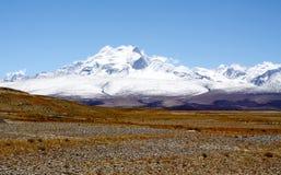 Shishapangma da montanha Imagem de Stock