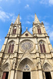 Shishi Sacred Heart Cathedral, built in 1863 at Guangzhou China. Stock Images