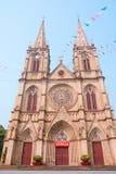 Shishi Sacred Heart Cathedral in Guangzhou Stock Photo