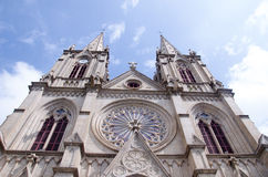 Shishi Sacred Heart Cathedral in Guangzhou,China Royalty Free Stock Images