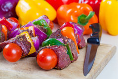 Shishkabob Royalty Free Stock Photo