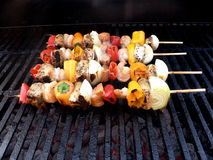 Shishkabobs 2 Royalty Free Stock Photography