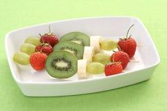 Shishkabobs Fruity foto de stock