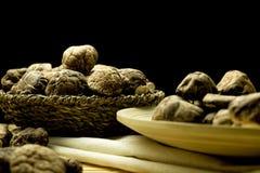 Shitake mushroom Royalty Free Stock Photos