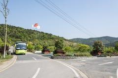 Shitang village entrance royalty free stock photos