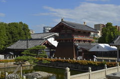 Shitenno-ji. Temple in Osaka, Japan Stock Image