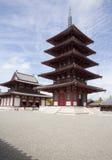 Shitennoji寺庙在大阪 库存照片