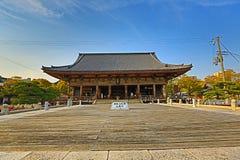 Shitennoji寺庙在Tennoji病区,大阪里 库存照片
