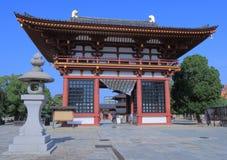Shitennoji寺庙大阪日本 免版税图库摄影