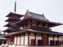 Shitennoji świątynia, Osaka Zdjęcia Royalty Free