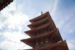 Shitennoji świątynia w Osaka Zdjęcie Royalty Free