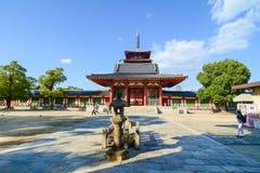 Shitennoji-Tempel in Osaka, Japan Lizenzfreies Stockbild