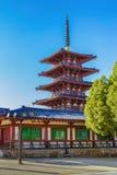Shitennoji Temple in Osaka Royalty Free Stock Photography