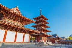 Shitennoji Temple in Osaka Royalty Free Stock Image