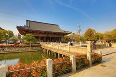 Shitennoji Temple in Tennoji Ward, Osaka Royalty Free Stock Photography