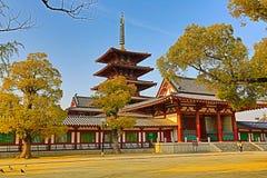 Shitennoji Temple in Tennoji Ward, Osaka Stock Image