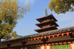 Shitennoji Temple in Tennoji Ward, Osaka Royalty Free Stock Image