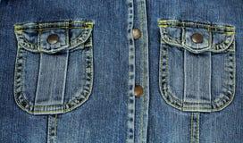 Shitr fick- jeans. Arkivbild